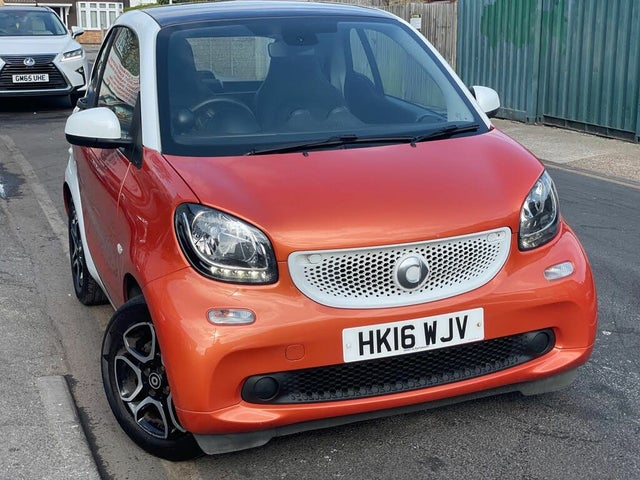 2016 Smart fortwo 1.0 Prime (70bhp) (s/s) Coupe Twinamic (16 reg)