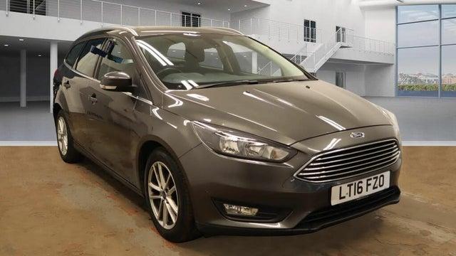 2016 Ford Focus 1.5TDCi Zetec (120ps) Estate 1496cc (16 reg)