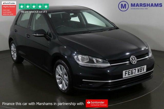 2017 Volkswagen Golf 1.6TDI SE Nav (s/s) Hatchback 5d (67 reg)