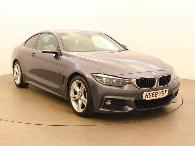2019 BMW 4 Series 2.0 420i Sport (s/s) Coupe 2d (68 reg)