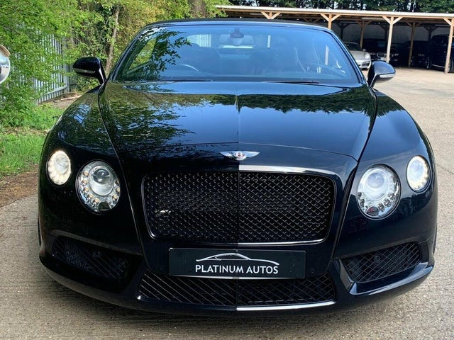 2012 Bentley Continental 4.0 GTC V8 (KJ reg)