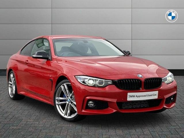 2020 BMW 4 Series 2.0TD 420d M Sport Coupe 2d Auto (20 reg)