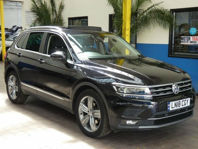 2018 Volkswagen Tiguan 2.0TDI SEL (150ps) (s/s) DSG (18 reg)