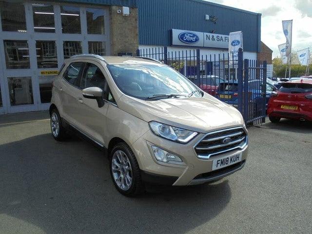 2018 Ford EcoSport 1.0T Titanium (125ps) (s/s) (18 reg)