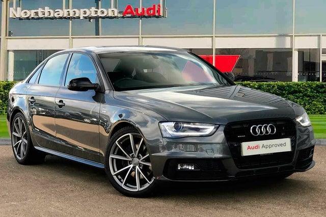 2015 Audi A4 2.0 quattro Black Edition PLUS (15 reg)