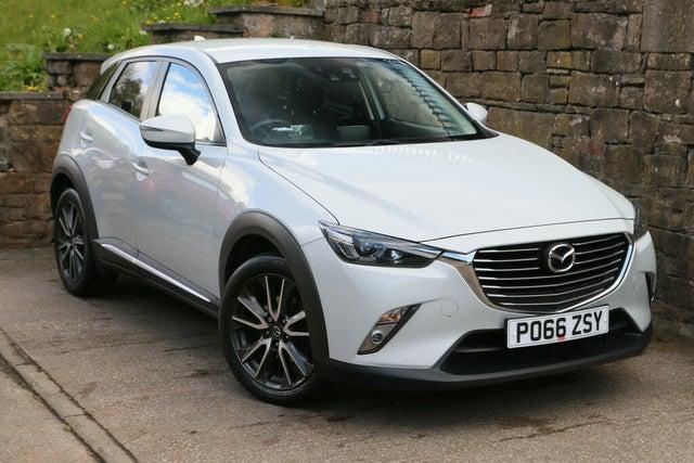 2016 Mazda CX-3 2.0 Sport Nav (120ps) (2WD)(s/s) (66 reg)