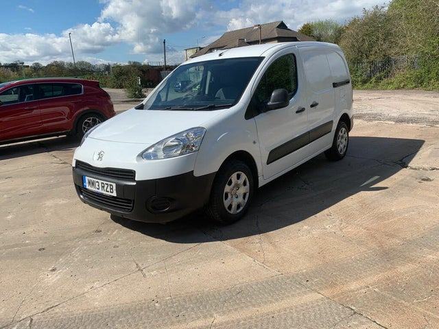 2013 Peugeot Partner 1.6TD Professional L1 Panel (13 reg)