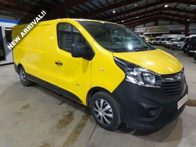 2016 Vauxhall Vivaro 1.6CDTi 2900 L2H1 (125PS)(EU6) BiTurbo (s/s) Panel Van (66 reg)