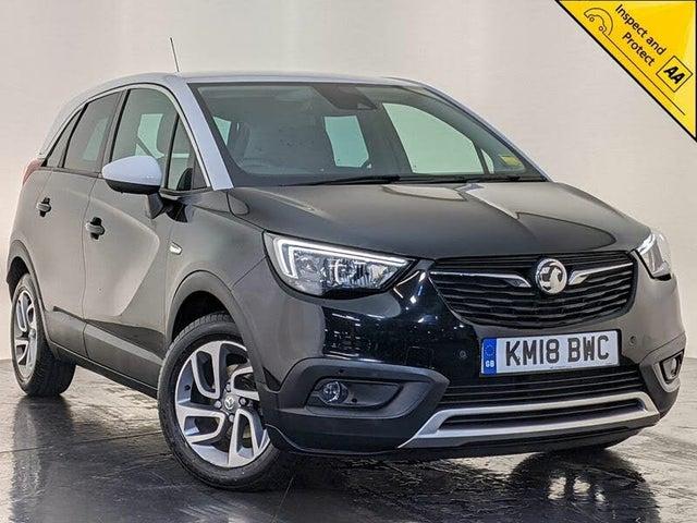 2018 Vauxhall Crossland X 1.6 Tech Line NAV (99ps) ecoTec (18 reg)