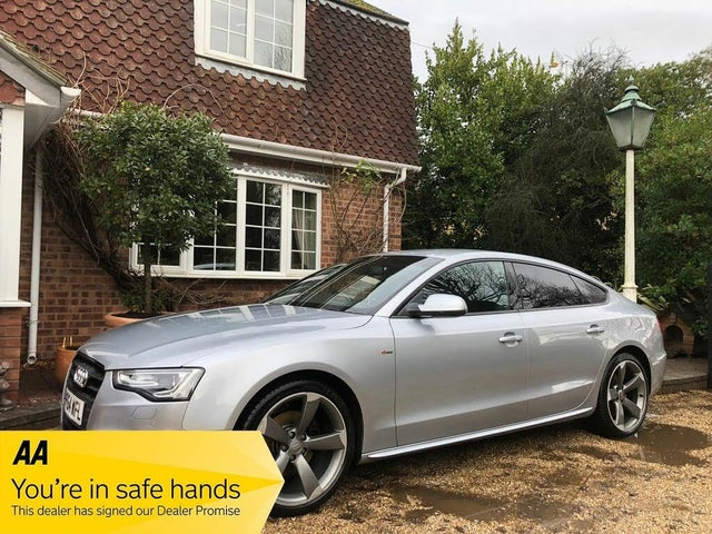 2014 Audi A5 2.0TD Black Edition (177ps) Sportback 5d Multitronic (64 reg)
