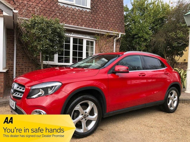 2018 Mercedes-Benz GLA-Class 1.6 GLA 200 Sport (Executive) (67 reg)