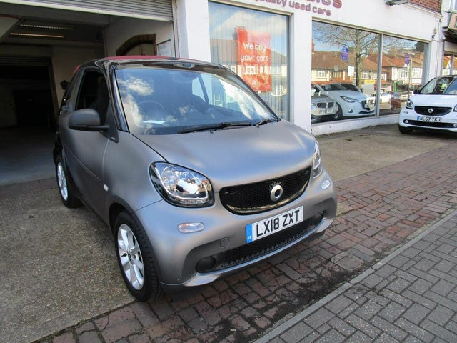2018 Smart fortwo 1.0 Passion (70bhp) (s/s) Cabriolet Twinamic (18 reg)