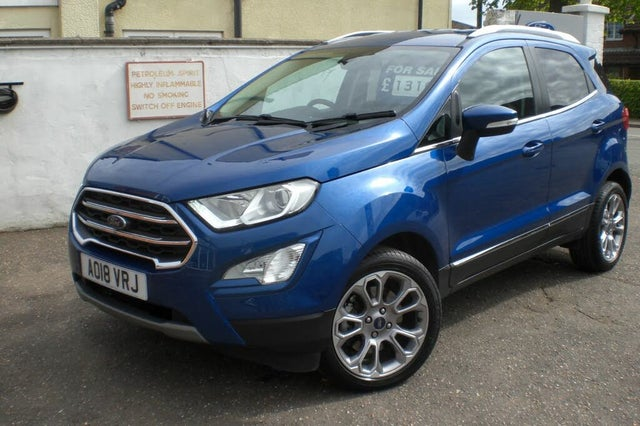 2018 Ford EcoSport 1.0T Titanium (125ps) (s/s) Auto (18 reg)