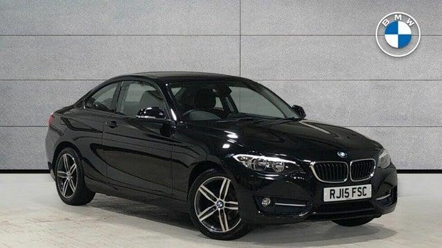2015 BMW 2 Series 2.0TD 218d Sport (141bhp) Coupe 2d (15 reg)