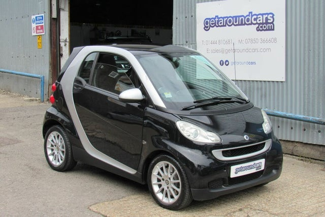 2007 Smart fortwo 1.0 Passion (84bhp) Coupe Semi-A (57 reg)