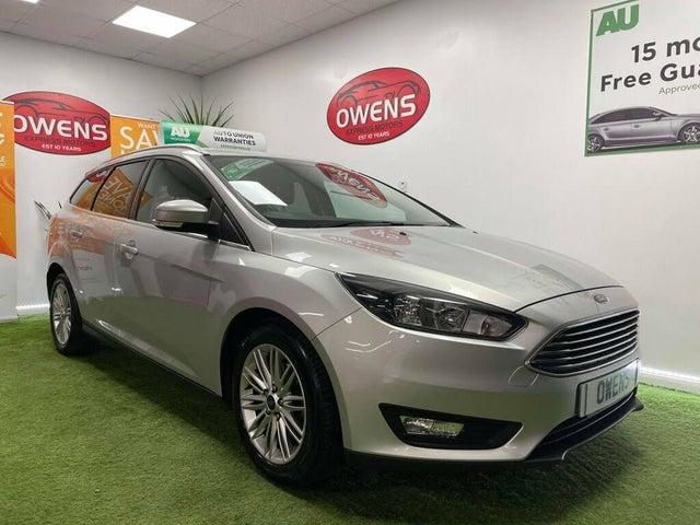 2018 Ford Focus 1.5TDCi Zetec Edition (120ps) Estate (06 reg)