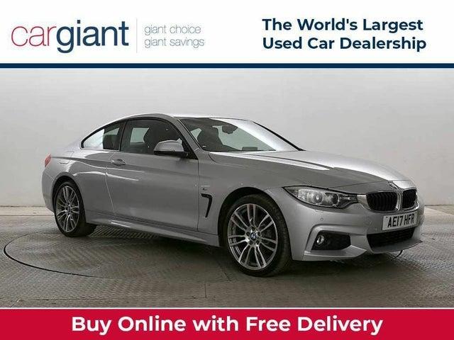 2017 BMW 4 Series 2.0 420i xDrive M Sport 4X4 2d Auto (17 reg)