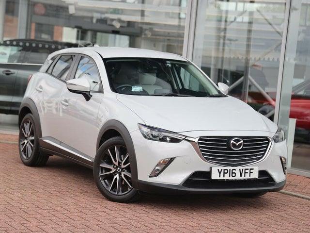 2016 Mazda CX-3 2.0 Sport Nav (120ps) (2WD)(s/s) Auto (16 reg)