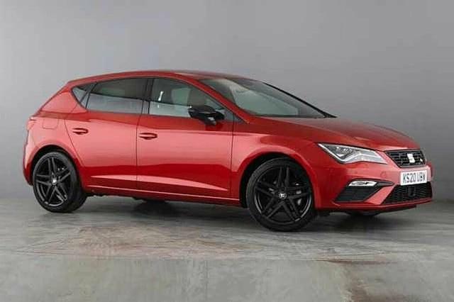 2020 Seat Leon 1.5 TSI EVO FR Black Edition (150ps) Hatchback DSG (20 reg)