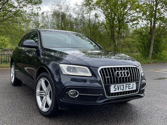 2013 Audi Q5 2.0TD S Line Plus (177ps) (s/s) Tronic (13 reg)