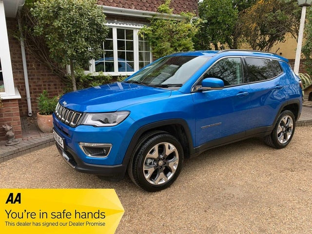 2019 Jeep Compass 2.0MultiJet II Limited (140ps) (69 reg)