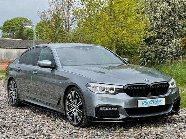 2018 BMW 5 Series 3.0TD 530d M Sport 4X4 xDrive Saloon 4d (Z5 reg)