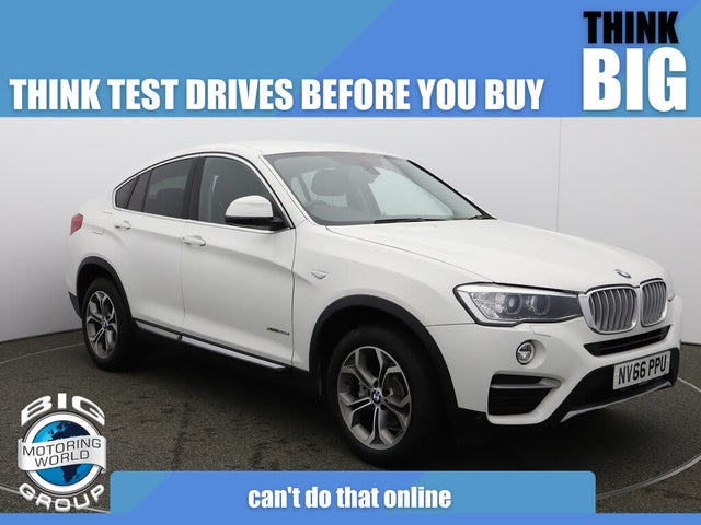 2017 BMW X4 2.0TD xDrive20d xLine Auto (66 reg)