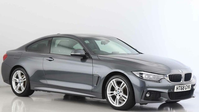 2019 BMW 4 Series 2.0 420i M Sport (s/s) Coupe 2d Auto (68 reg)
