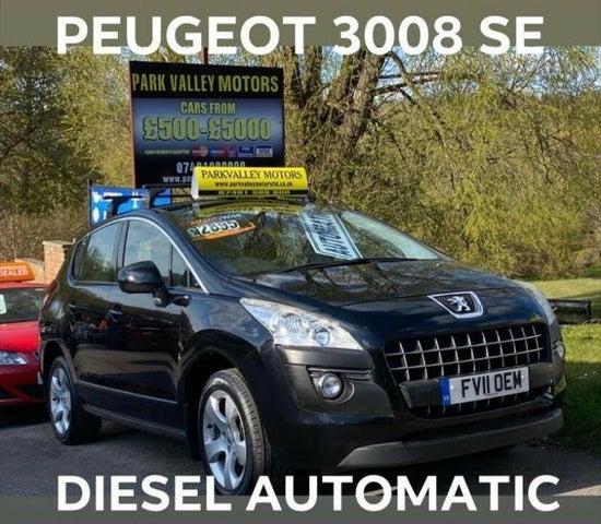 2011 Peugeot 3008 Crossover 1.6TD Sport 1.6HDi (112bhp) EGC (11 reg)