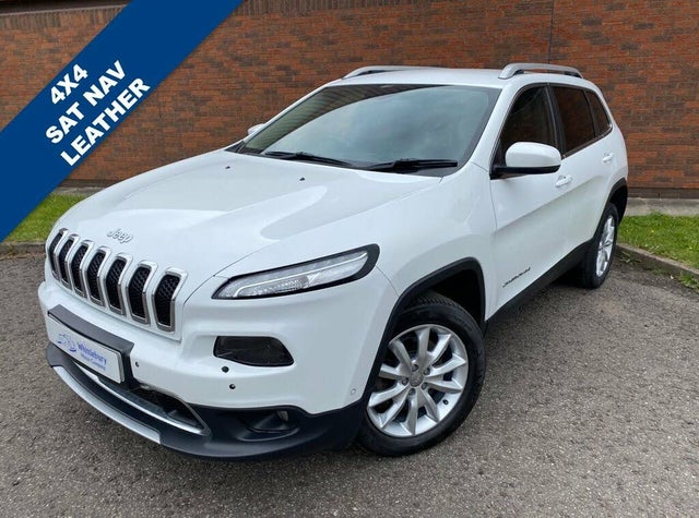 2015 Jeep Cherokee 2.0CRD Limited (140ps) (s/s) (15 reg)