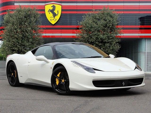 2012 Ferrari 458 4.5 Italia (62 reg)