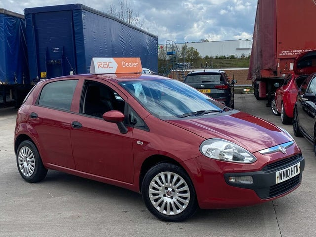 2010 Fiat Punto Evo 1.4 Active 5d (10 reg)