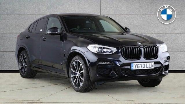 2020 BMW X4 2.0TD xDrive20d M Sport TU MHT(Tech Pack) (70 reg)