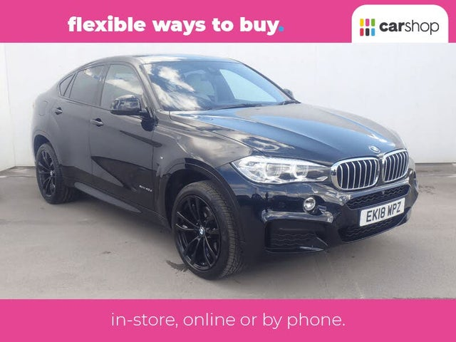2018 BMW X6 3.0TD xDrive40d M Sport (s/s) (AK reg)
