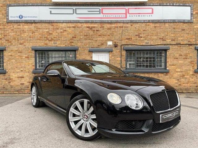 2012 Bentley Continental 4.0 GTC V8 (62 reg)