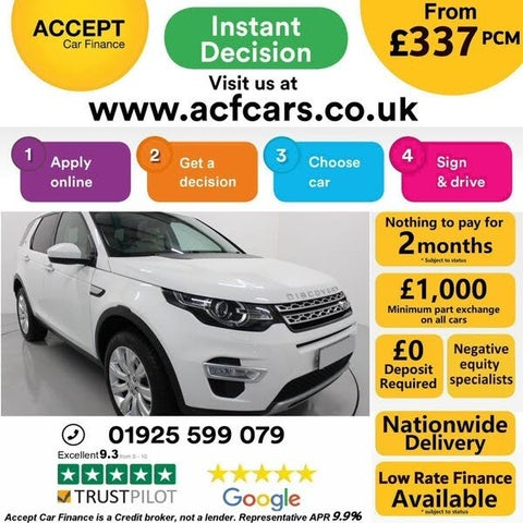 2015 Land Rover Discovery Sport 2.2TD HSE Luxury Auto (15 reg)