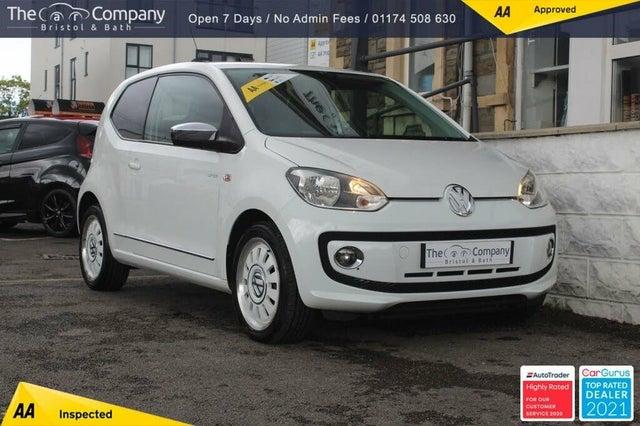 2012 Volkswagen up! 1.0 Up White 3d (62 reg)