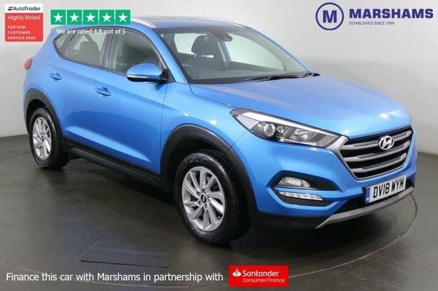 2018 Hyundai Tucson 1.7CRDi Blue Drive SE (116ps) (AJ reg)