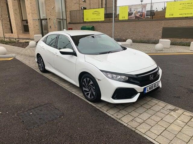 2018 Honda Civic 1.0 VTEC TURBO SE (129ps) Hatchback 5d (18 reg)