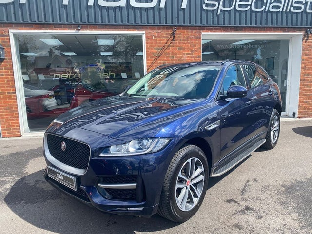 2018 Jaguar F-PACE 2.0 i4D R-Sport (240ps) (AWD) Auto (DC reg)
