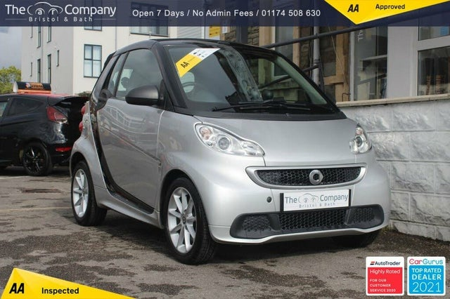 2012 Smart fortwo 1.0 Passion (71bhp) Cabriolet Softouch (62 reg)