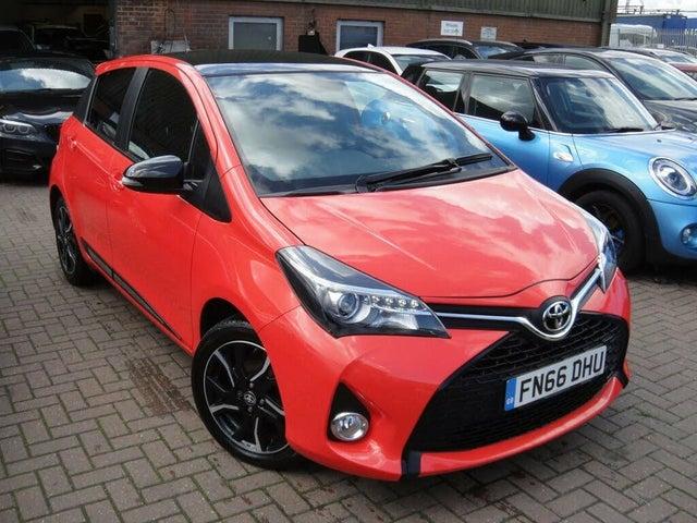 2016 Toyota Yaris 1.33 Orange Edition (66 reg)
