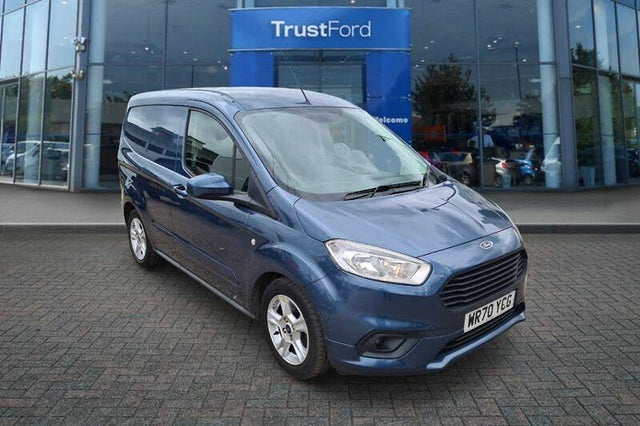 2020 Ford Transit Courier 1.0T Limited Ecoboost (100ps) (70 reg)