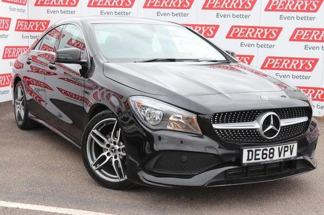2018 Mercedes-Benz CLA 1.6 CLA 200 AMG Line Edition Coupe 4d (68 reg)