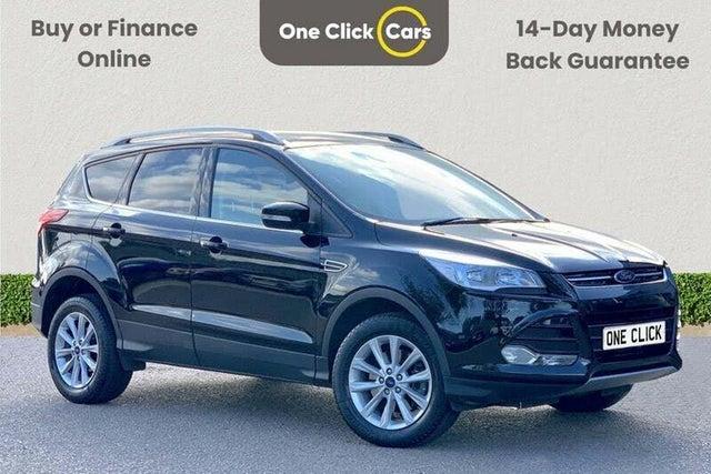 2016 Ford Kuga 2.0TDCi Titanium (180ps) (AWD) Powershift (66 reg)