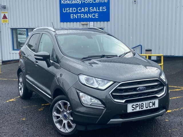 2018 Ford EcoSport TITANIUM (18 reg)