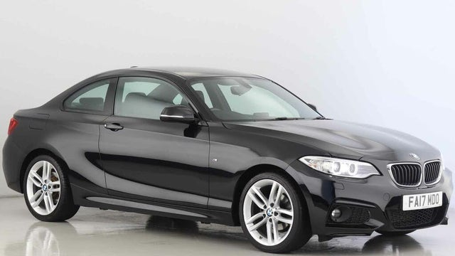2017 BMW 2 Series 2.0TD 218d M Sport Coupe 2d (17 reg)