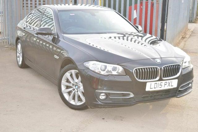 2015 BMW 5 Series 3.0TD 530d Luxury Saloon 4d (15 reg)