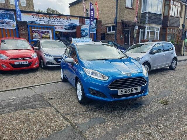 2016 Ford Fiesta 1.25 Zetec Blue Edition 5d (16 reg)
