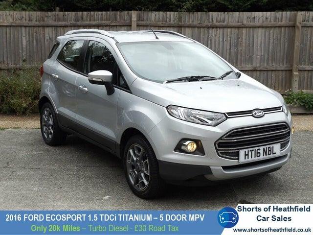 2016 Ford EcoSport 1.5TDCi Titanium (95ps) (16 reg)